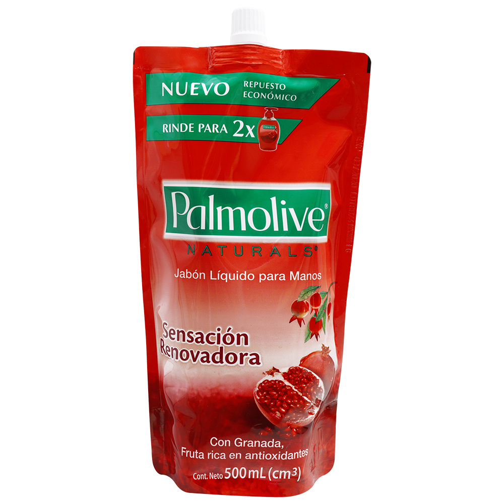 Jabon Liquido Para Manos Palmolive Naturals Granada X 500Ml