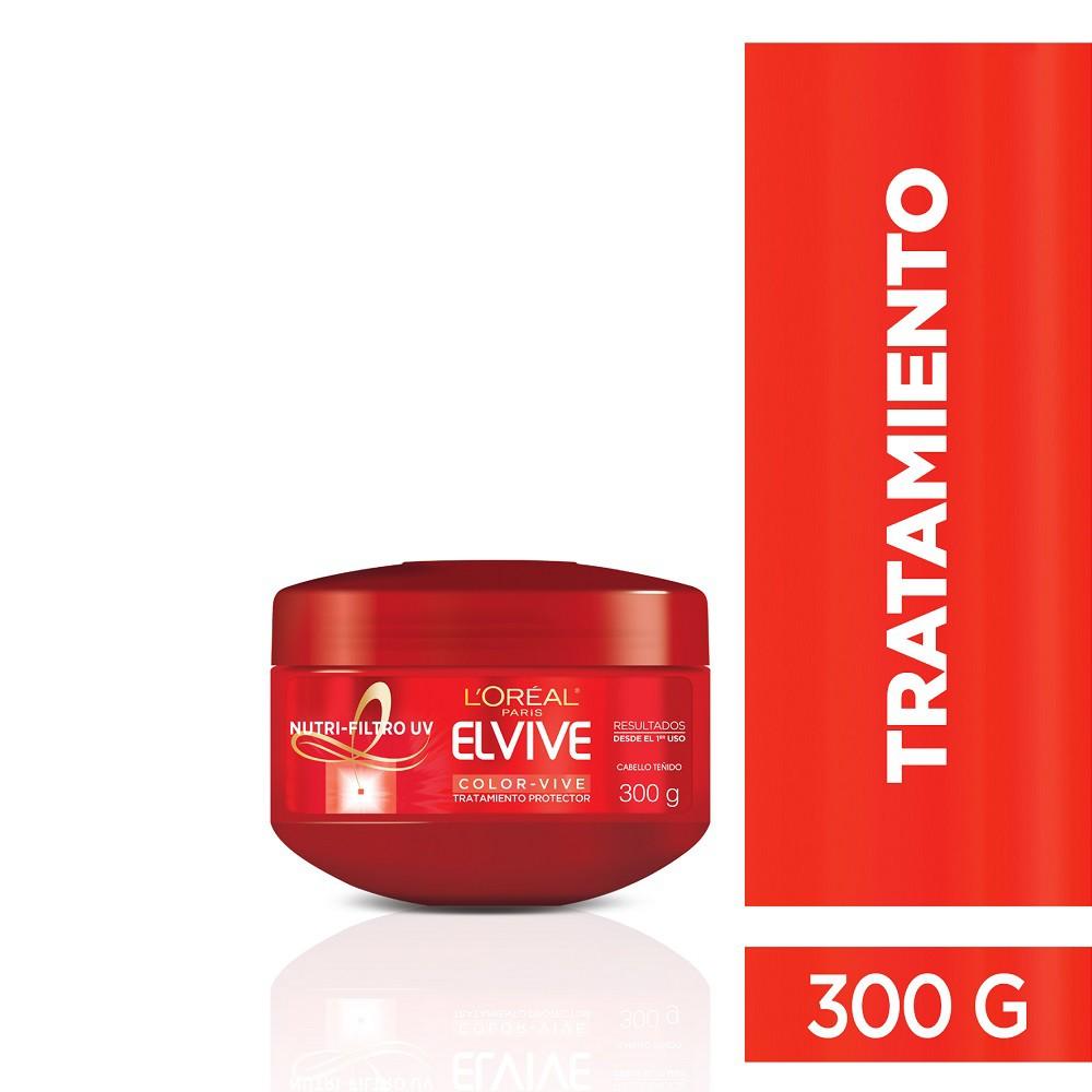 Tratamiento Capilar L'Oréal Paris Elvive Color Vive X 300 Gr