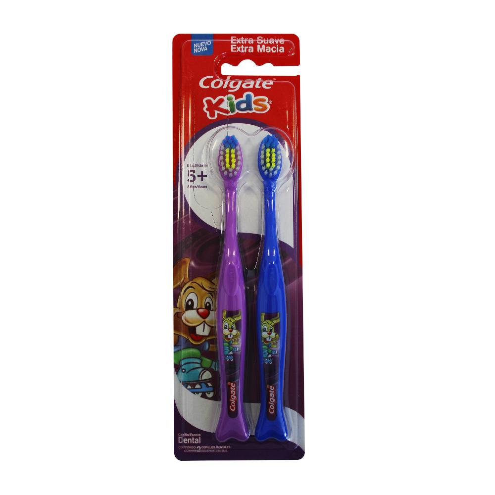 Cepillo Dental Colgate Kids 5 Años X 2Und
