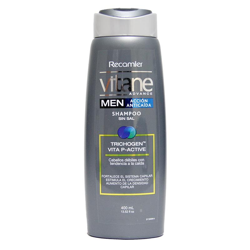 Shampoo Vitane Anticaida Therapy Hombre