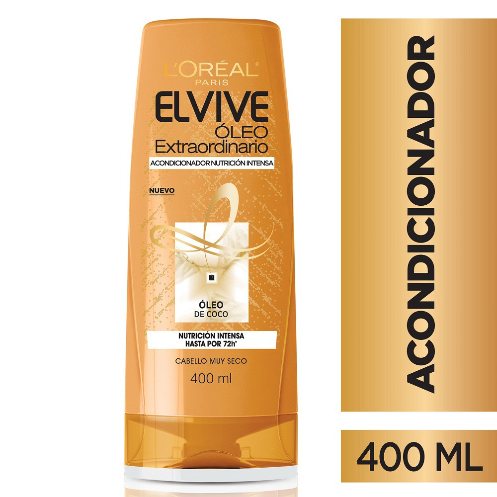 Acondicionador L'Oréal Paris Elvive Óleo Coco X 400 Ml