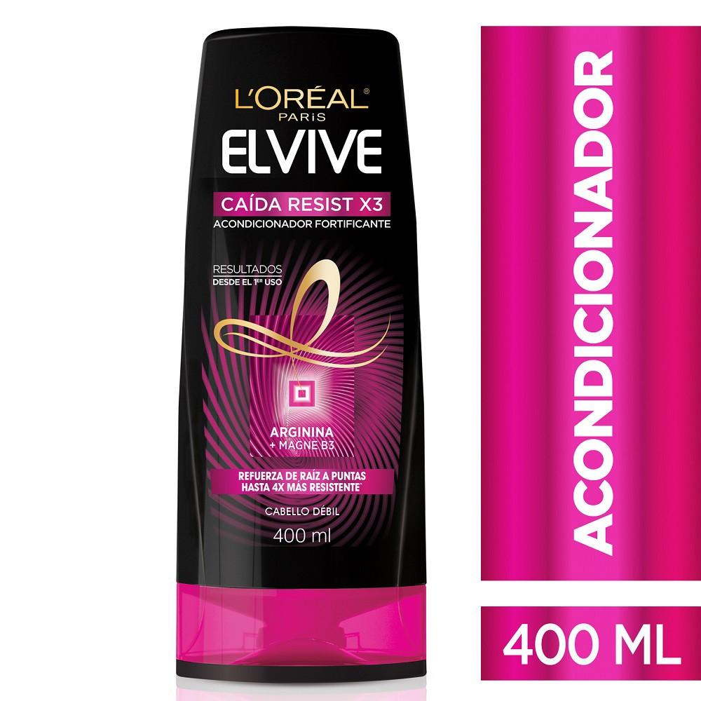Acondicionador L'Oréal Paris Elvive Caída Resist X 400 Ml