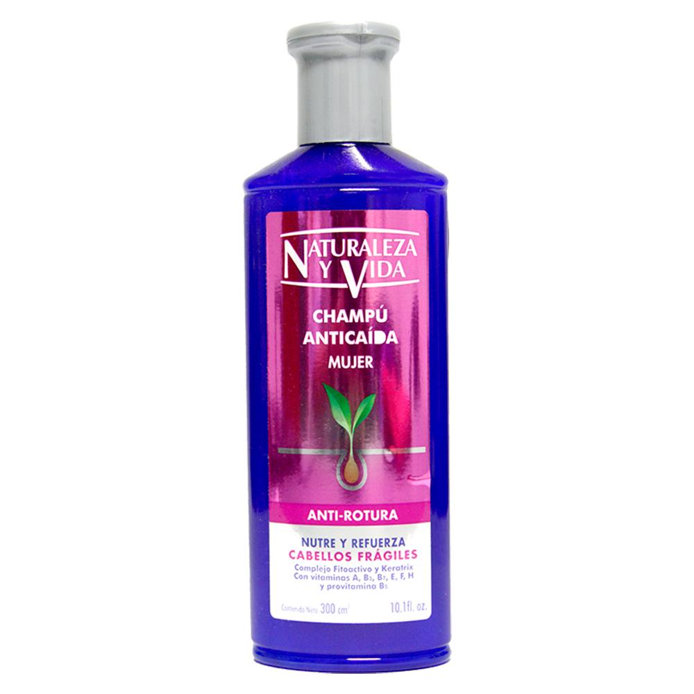 Shampoo Naturaleza & Vida Anticaida Antirotura X 300Ml