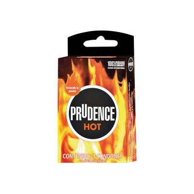 Condones hot 3 pzas
