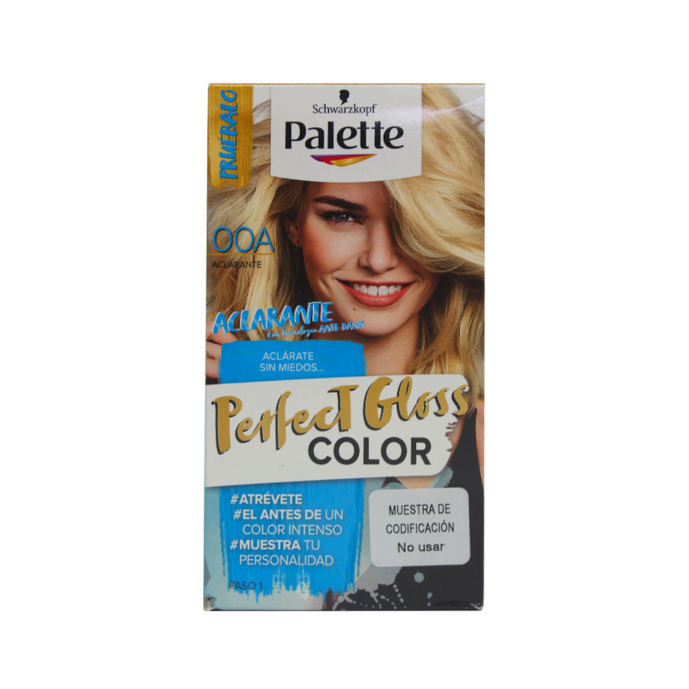 Tinte Palette perfect gloss color tinte 00a