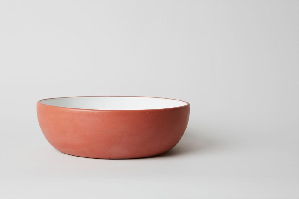 Fuente redonda grande cerámica