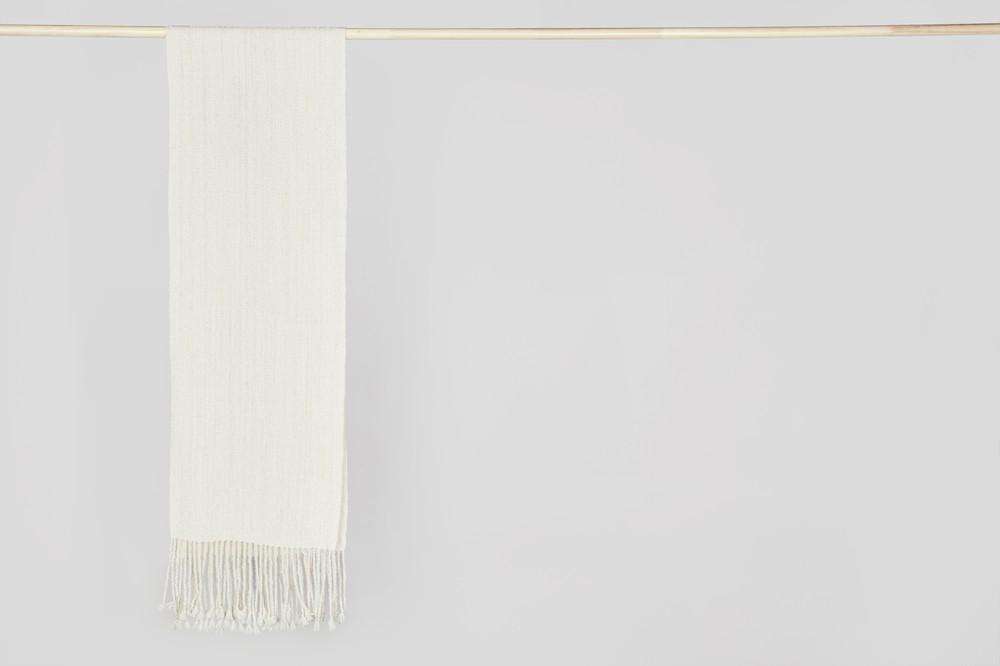 Bufanda simple blanca