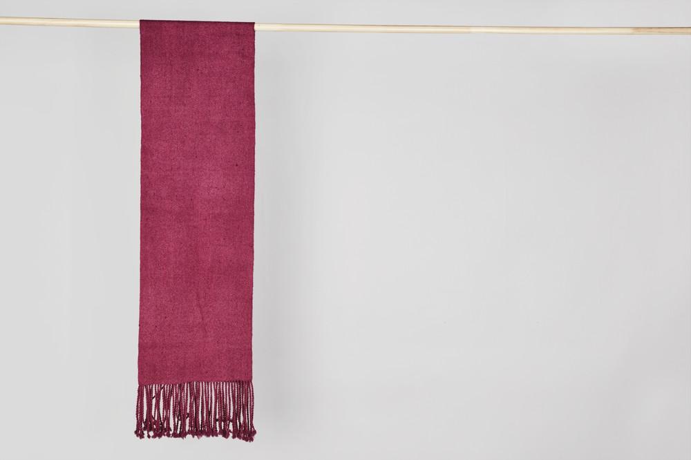 Bufanda simple rosada