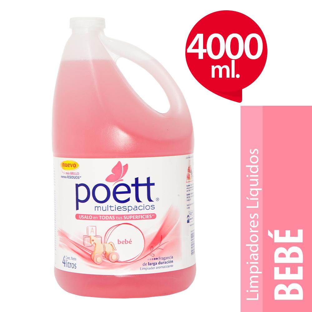 Limpiador de pisos líquido aroma bebé