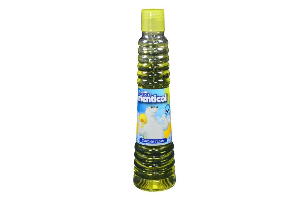 Menticol frasco x 250 ml loción – solución tópica