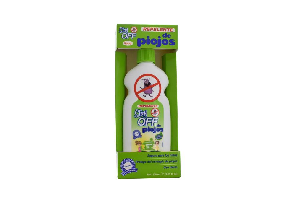 Stay off repelente de piojos caja con frasco con 120 ml