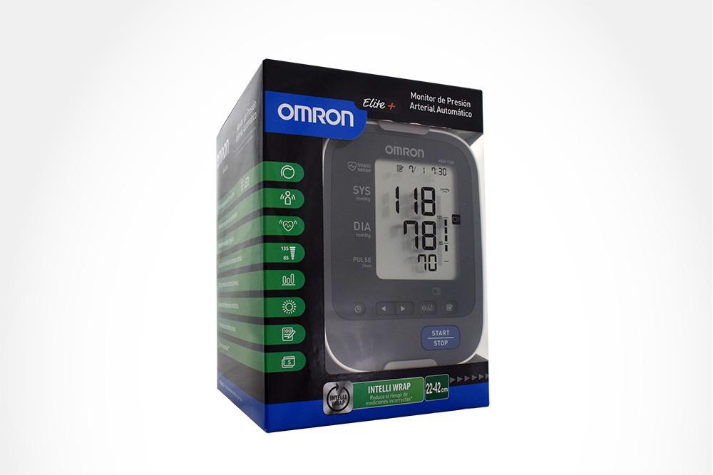 Omron elite+ monitor de presión arterial de brazo..
