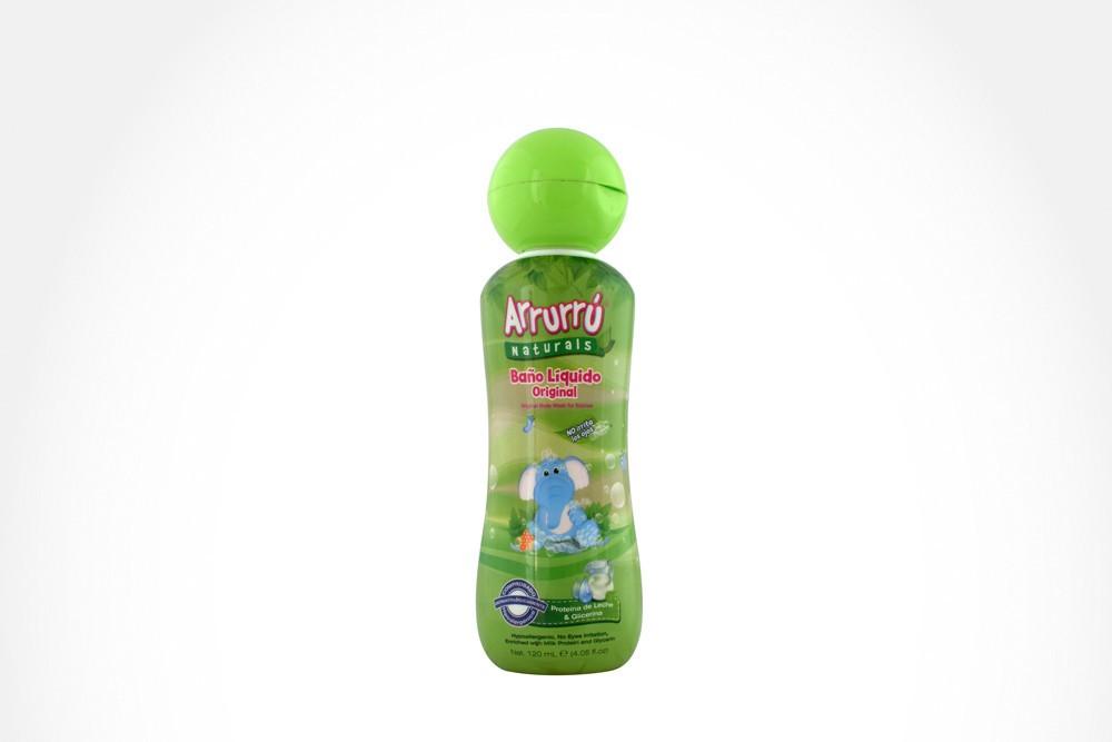 Arrurrú naturals baño líquido frasco con 120 ml