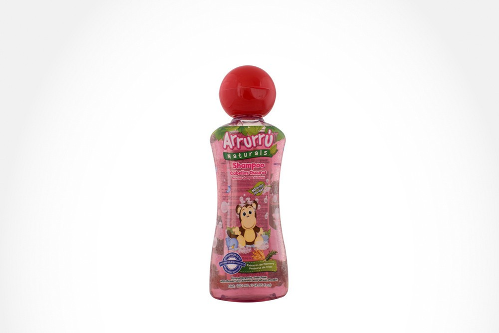 Arrurrú naturals shampoo romero cabellos oscuros frasco con 120 ml