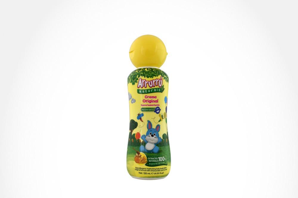 Arrurrú naturals crema original frasco con 120 ml