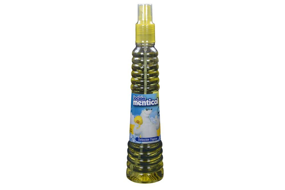Menticol 96-0,39% solución tópica frasco spray con 250 ml