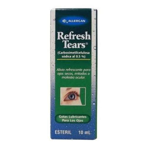 Refresh Tears gotas lubricantes para ojos