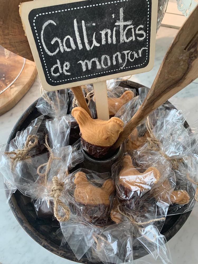 Gallinitas de manjar
