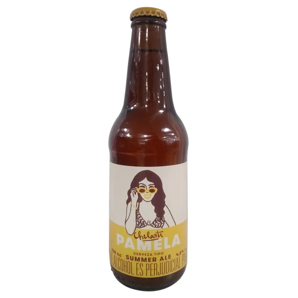 Cerveza pamela summer ale 330 ml