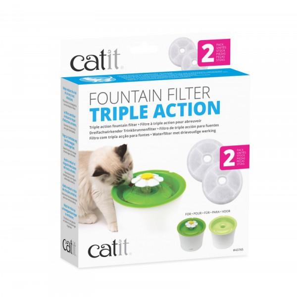 Catit filtro fuente triple accion