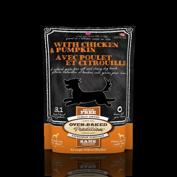 Golosina dog treat chicken and pum