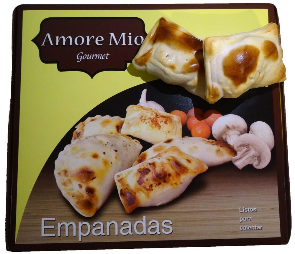 Empanaditas camaron queso ciboulette Envase 20 unidades