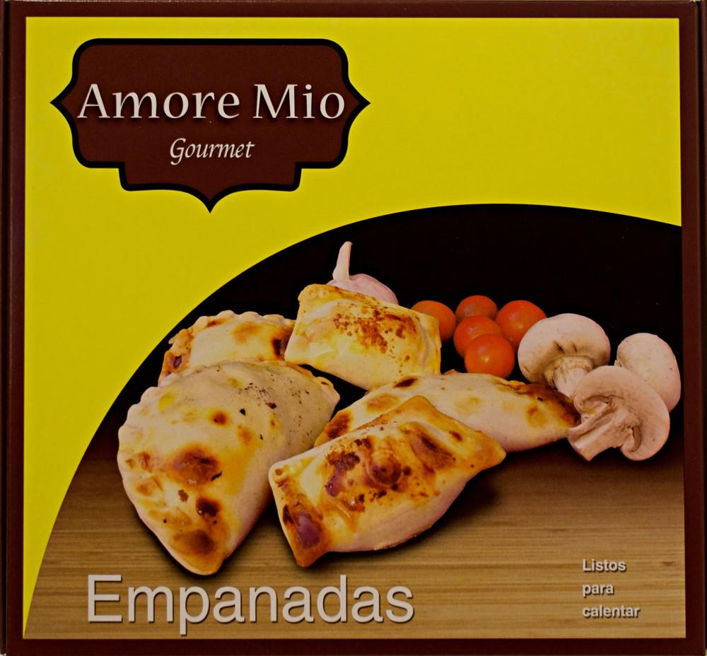 Empanaditas pollo queso albahaca Envase 20 unidades