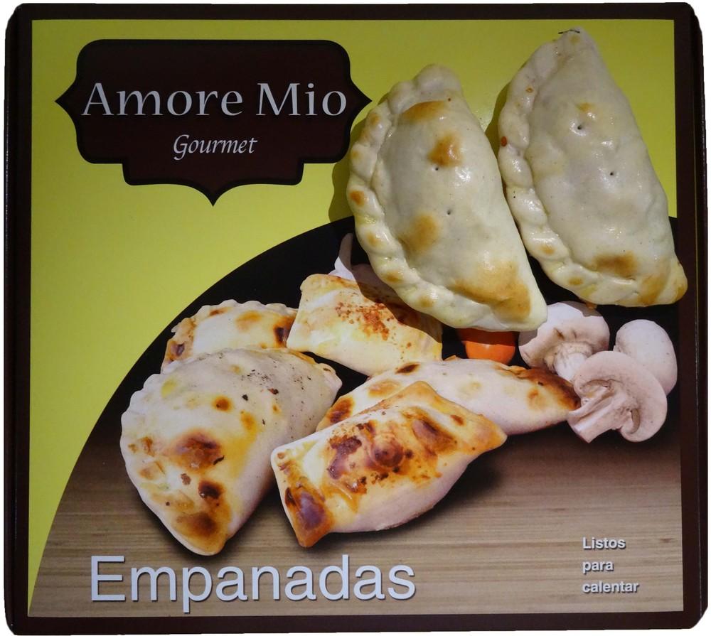 Empanaditas ricotta tomate orégano Envase 20 unidades
