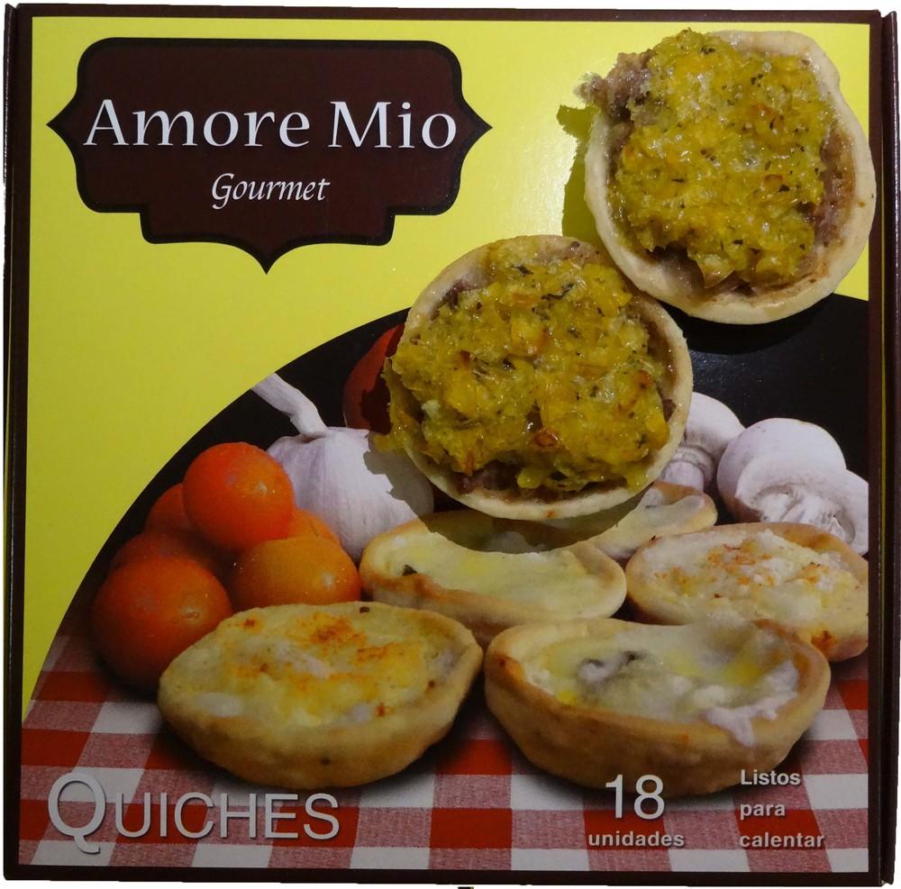 Mini quiches pastel de choclo Envase 18 unidades