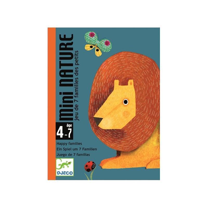 Cartas de juego mini nature