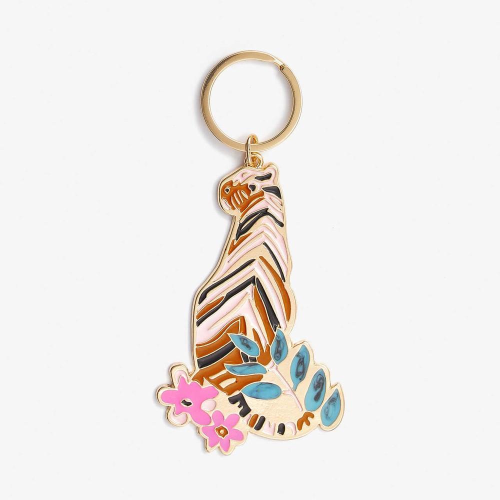 Llavero pink tiger