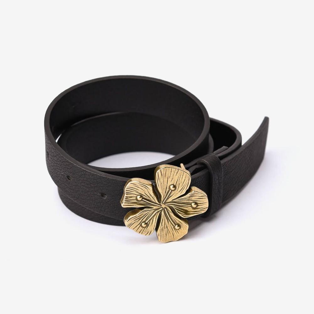 Cinturón Gold Flower M/L