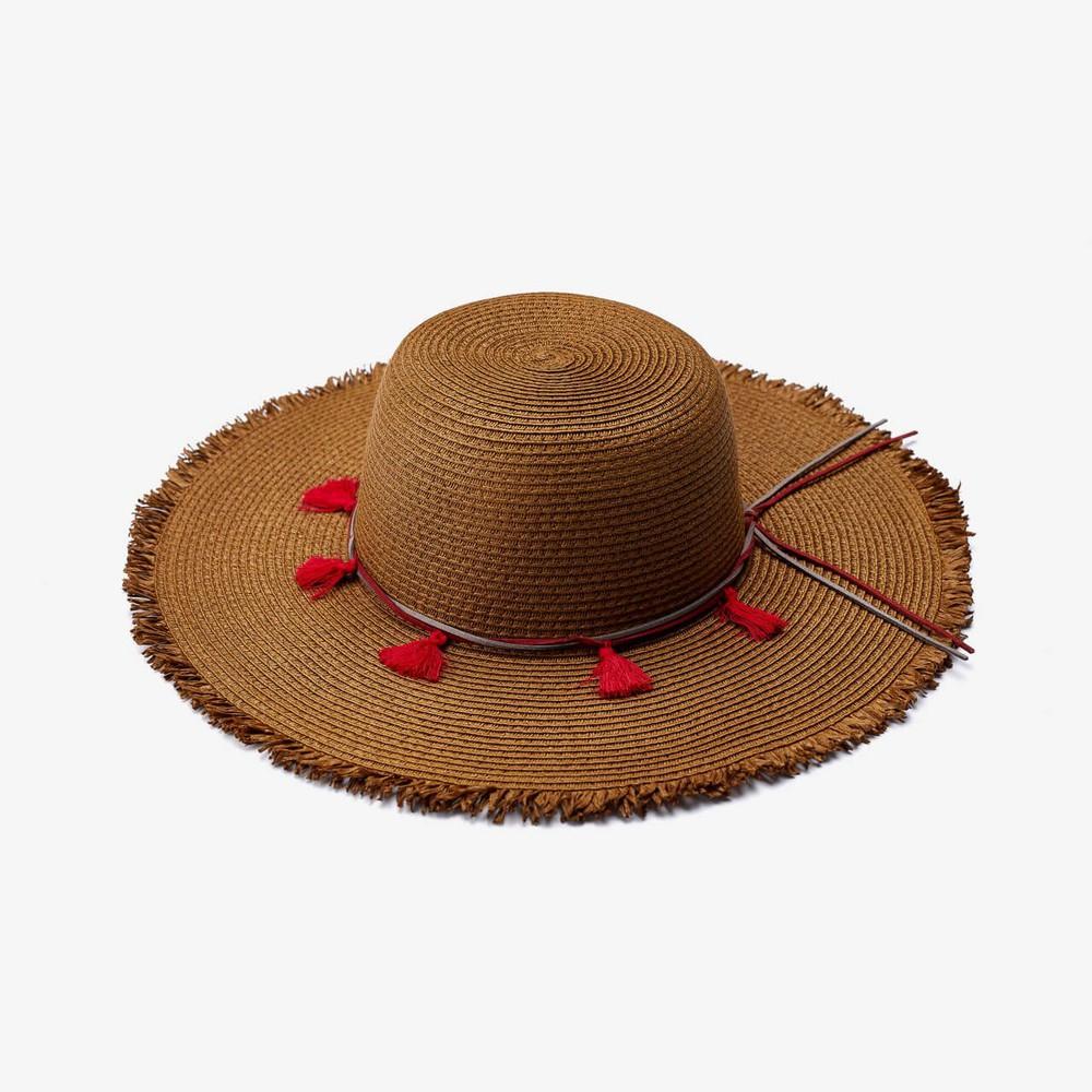 Sombrero sofía café
