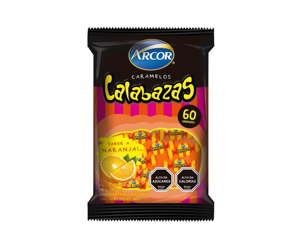 Caramelos Calabazas sabor naranja