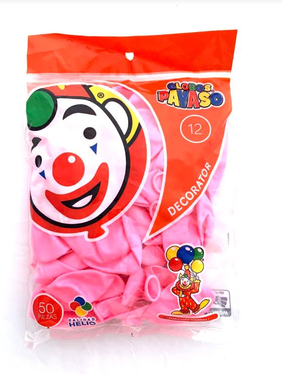 Globo 12 rosa