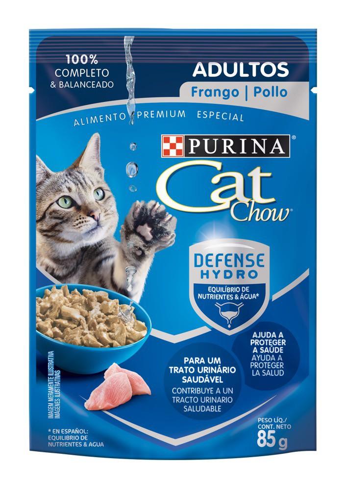 Alimento húmedo gatos sabor pollo