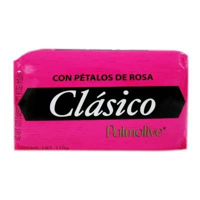 Jabón de tocador clásico con pétalos de rosa 110 g