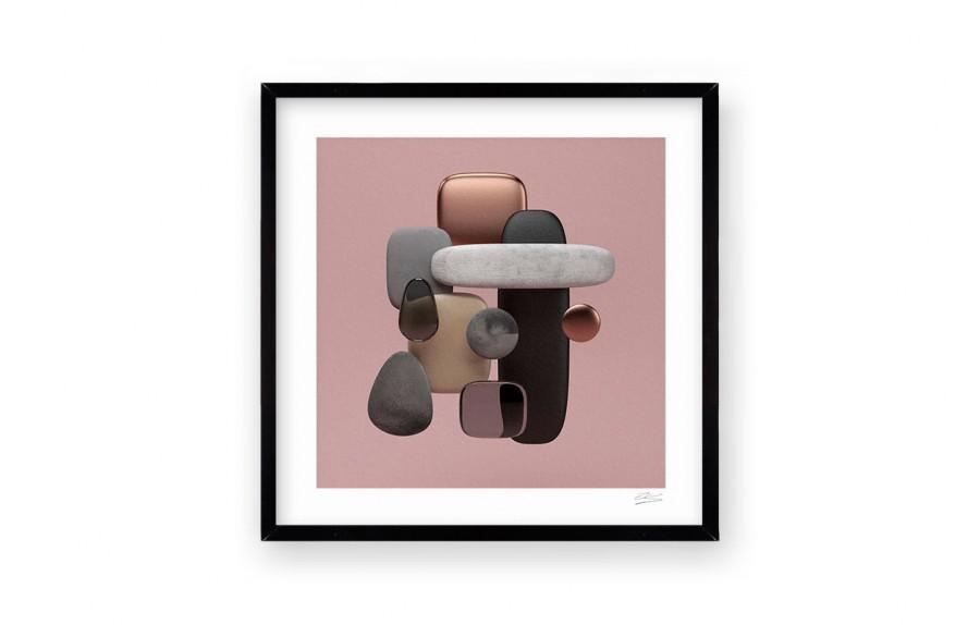 Cuadro stone rose por pablo llanquin