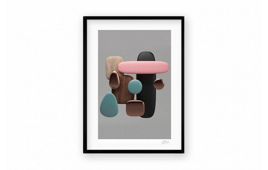 Cuadro stone color por pablo llanquin