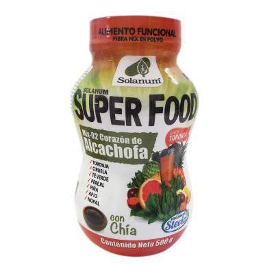 Fibra en polvo Super Food sabor toronja con chía