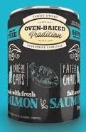 Pate for dog/ grain free/ salmón