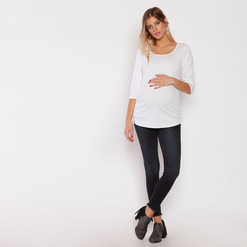Jeans anita pitillo dremel negro 42