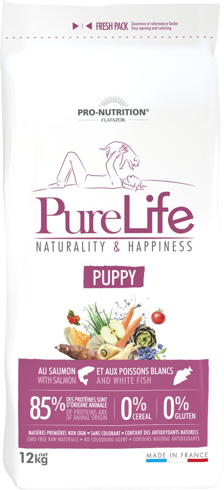 Pure life puppy