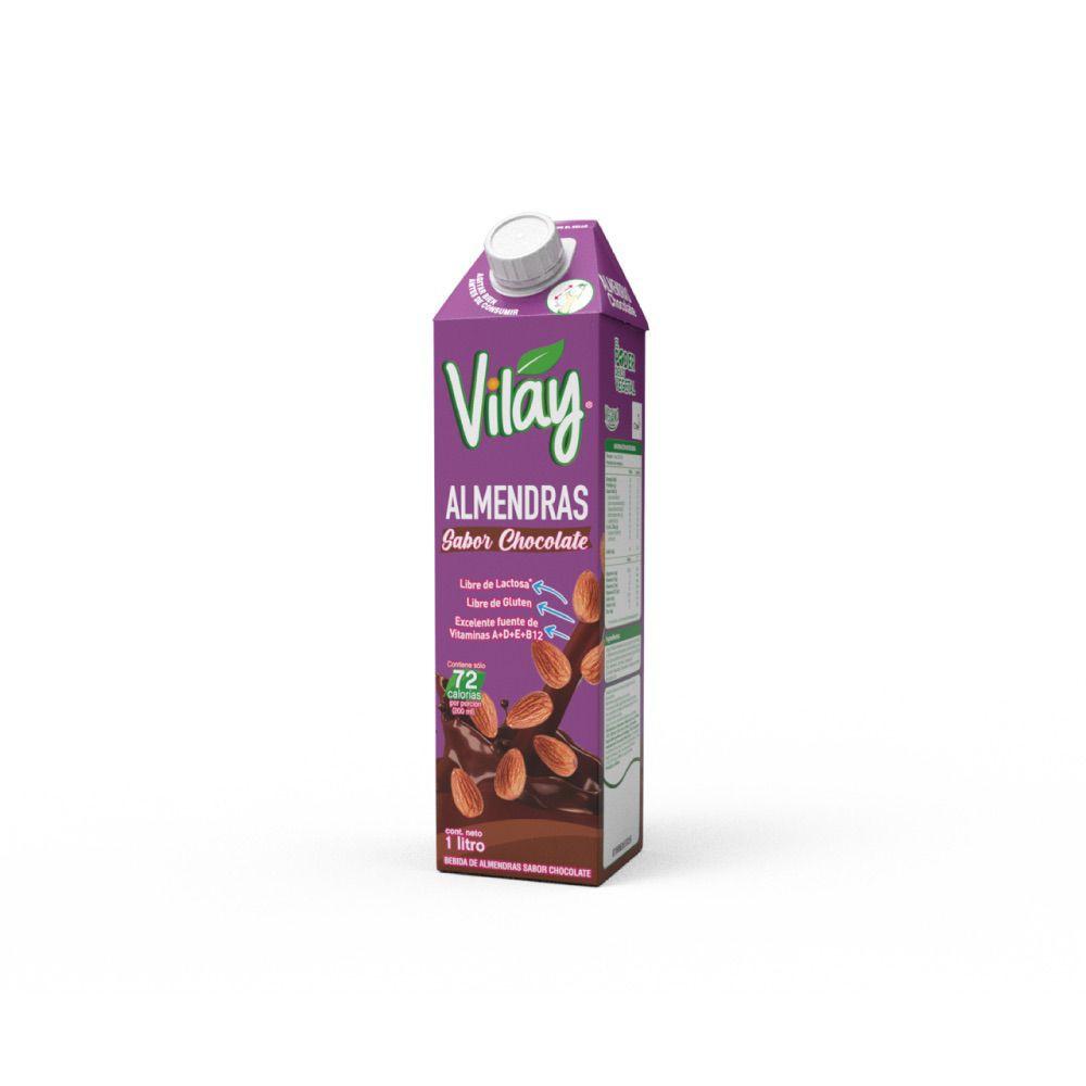 Bebida de almendra con cacao
