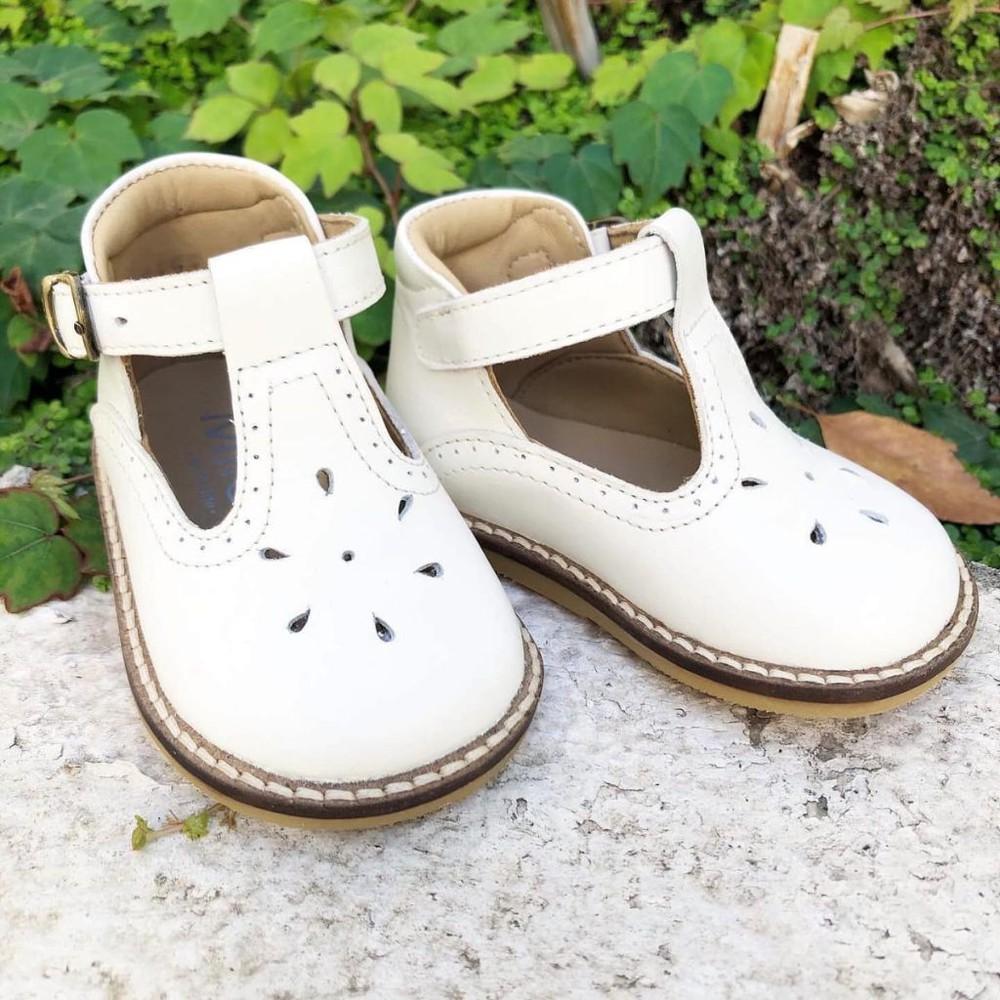 Zapato alicia hueso 18 (Medida interna:11,9 cm)