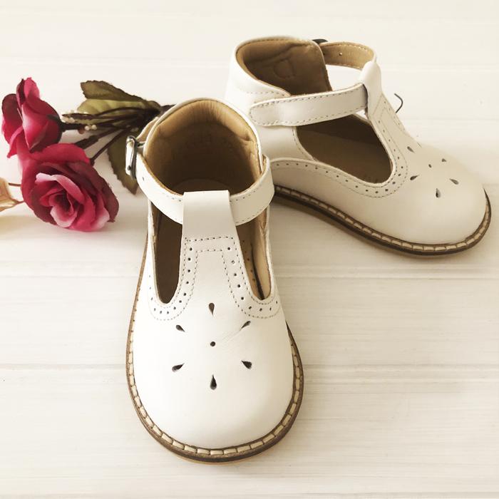 Zapato alicia hueso 19 (Medidas interiores: 12,6 cm)