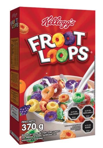 Froot Loops cereal sabor a frutas