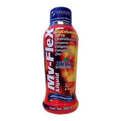 Suplemento alimenticio mv flex sabor piña mango 500 ml