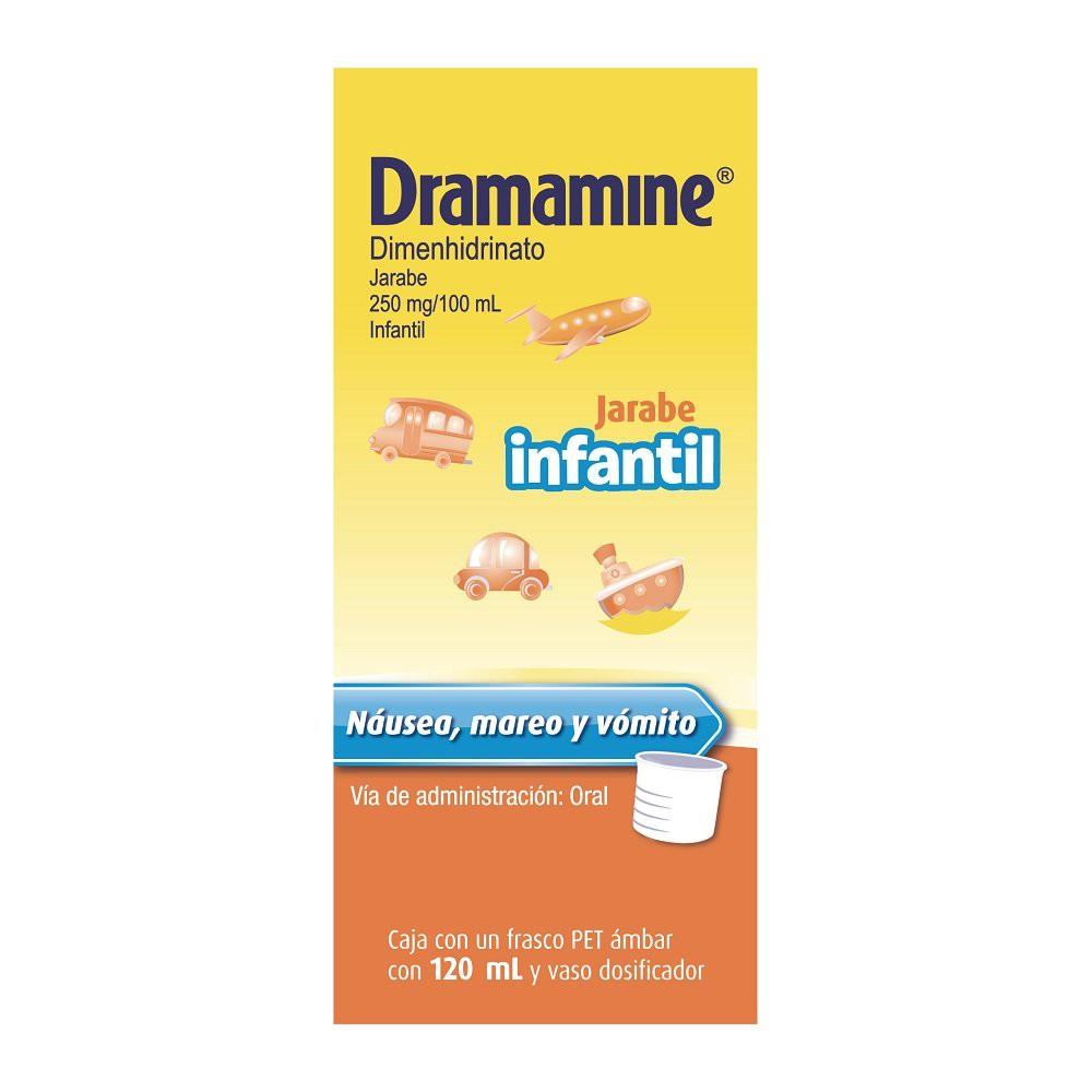 Dimenhidrinato infantil jarabe