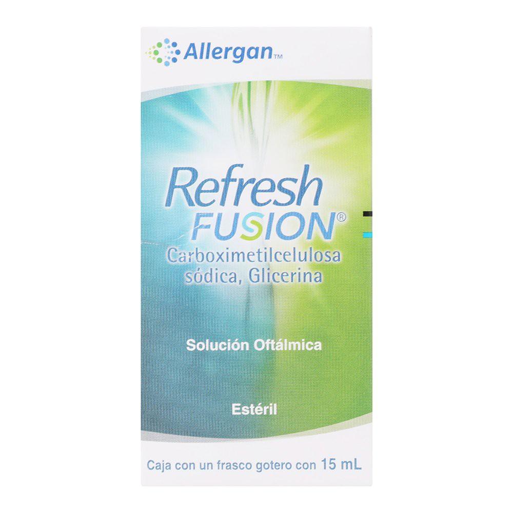 Refresh fusion 15ml sol oft